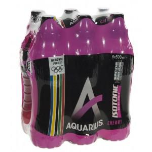 Aquarius  Cherry  50 cl  Pak  6 st