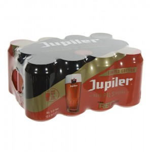 Jupiler Red  35,5 cl  Blik 12 pak