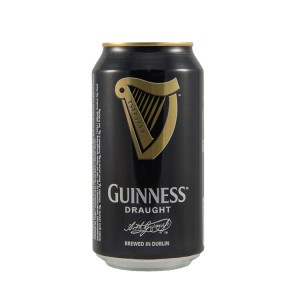 Guinness Stout  Donker  33 cl  Blik