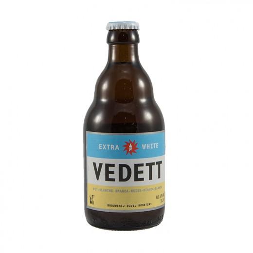 Vedett  White  33 cl   Fles