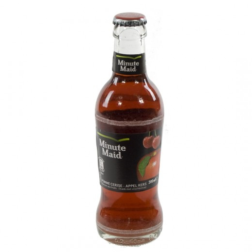 Minute Maid  Appel Kers  20 cl   Fles