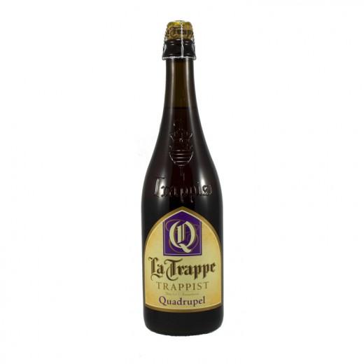 La Trappe trappist  Amber  Quadruppel  75 cl
