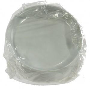 Plastiek Bord 1 vak  Pak 100 st  17 cm