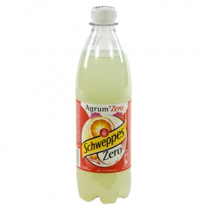 Schweppes agrum PET  Zero  50 cl   Fles