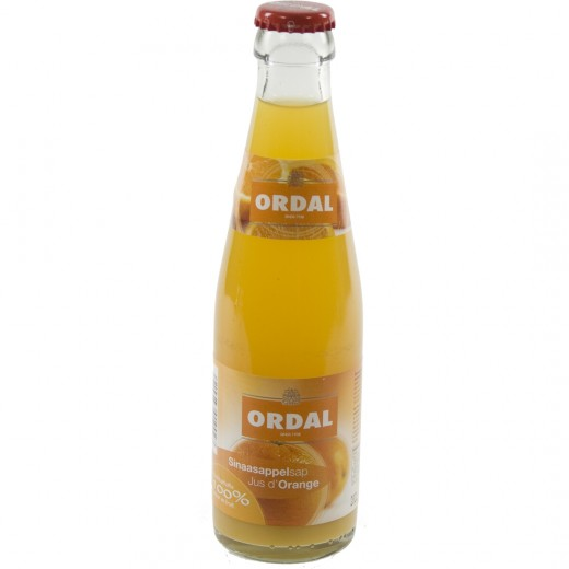 Ordal fruitsap  Sinaas  20 cl   Fles