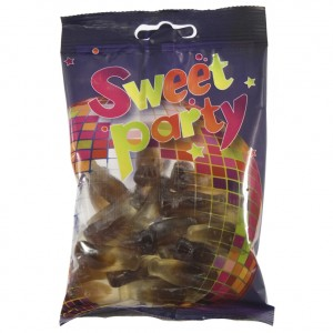 Sweet party 9 Colaflesjes  100 g