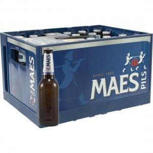 Maes Alcoholvrij  25 cl  Bak 24 st
