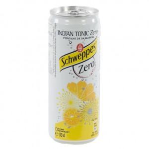 Schweppes Tonic BLIK  Zero  33 cl  Blik