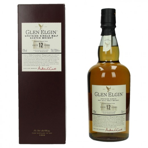 Glen Elgin 12Y 43%  70 cl