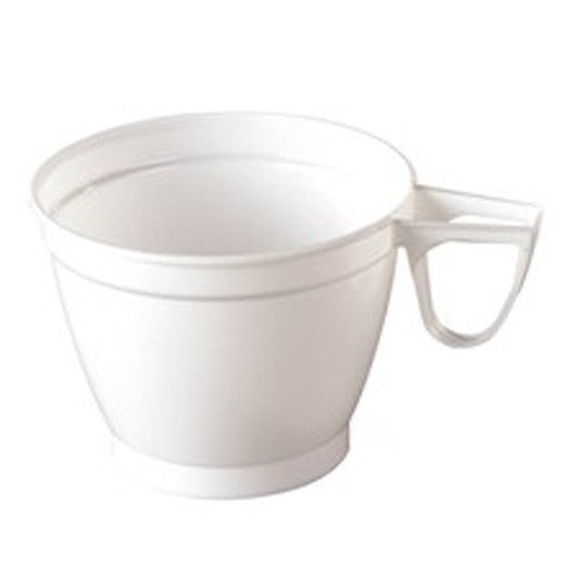Koffietas oor wit  Pak 60st