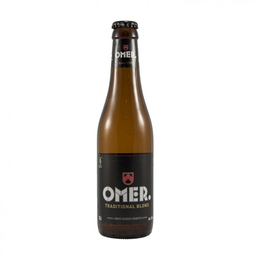Omer Traditional  Blond  33 cl   Fles