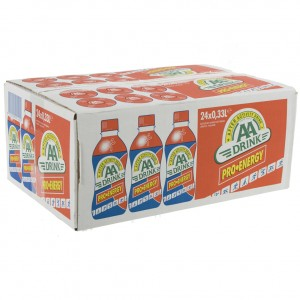 AA energy drank  Pro energy  33 cl  Doos 24 st