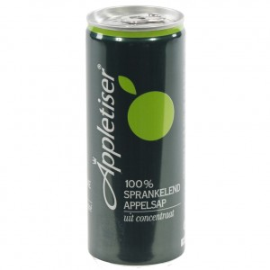 Appletiser  25 cl  Blik