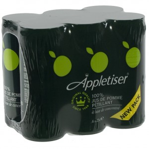 Appletiser  25 cl  Blik  6 pak