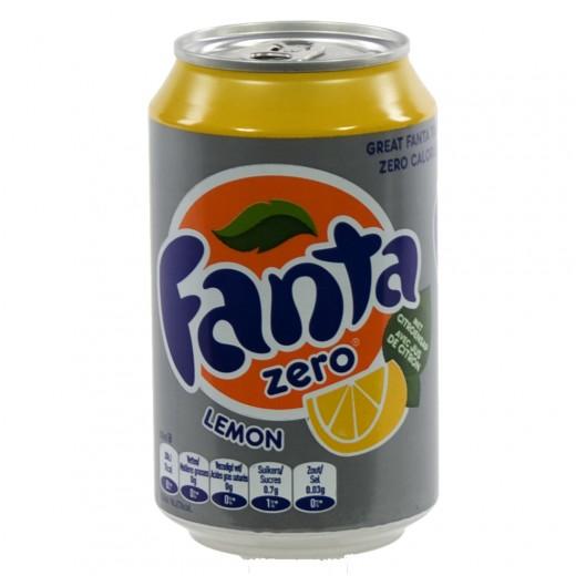 Fanta BLIK  Lemon Zero  33 cl  Blik