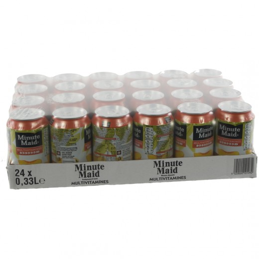 Minute Maid BLIK  Multi  33 cl  Blik 24 pak
