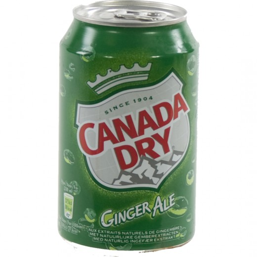 Canada dry  33 cl  Blik