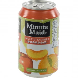 Minute Maid BLIK  Multi  33 cl  Blik