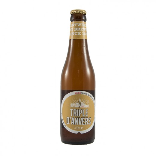 Triple d'anvers  Tripel  33 cl   Fles