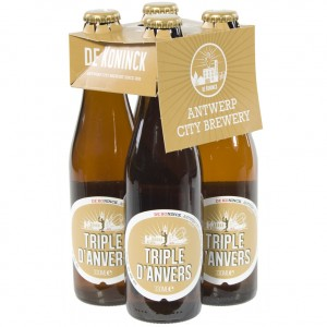 Triple d'anvers  Tripel  33 cl  Clip 4 fl