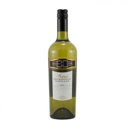 Badgers Creek Chardonnay Semilion  Wit  75 cl   Fles