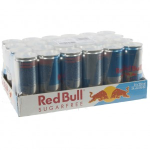 Red Bull  Sugarfree  25 cl  Pak 24 st
