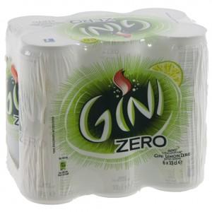 Gini  Zero  33 cl  Blik  6 pak