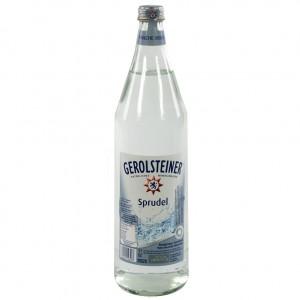 Gerolsteiner  Bruis  1 liter   Fles