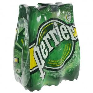 Perrier PET  1 liter  Pak  6 st