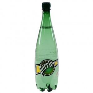 Perrier PET  1 liter   Fles