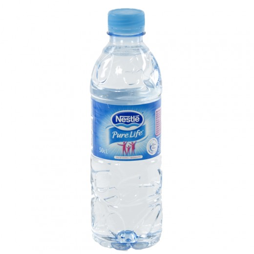 Nestle pure Life PET  Plat  50 cl   Fles