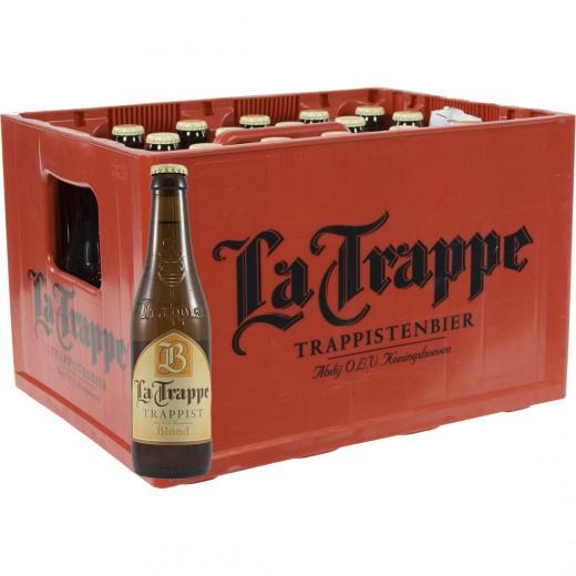 La Trappe trappist  Blond  33 cl  Bak 24 st