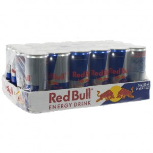 Red Bull  Regular  25 cl  Pak 24 st