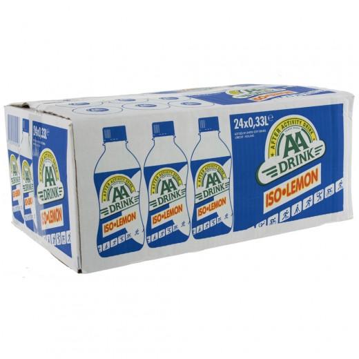 AA energy drank  Iso Lemon  33 cl  Doos 24 st
