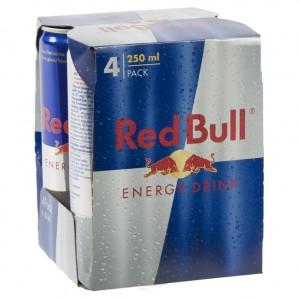 Red Bull  Regular  25 cl  Pak  4 st