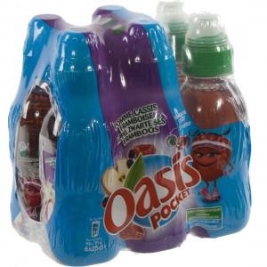 Oasis PET  Framboos  25 cl  Pak  6 st