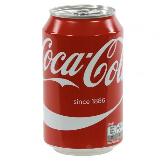 Coca Cola  Regular  33 cl  Blik