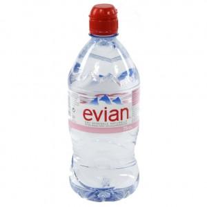 Evian PET  Plat  75 cl   Fles