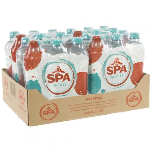 Spa PET  Soft Bruis  50 cl  Pak 24 st