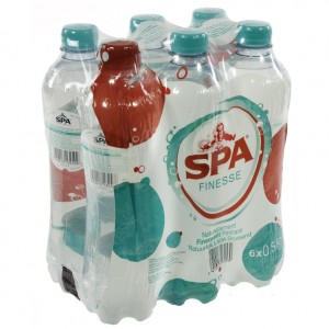 Spa PET  Soft Bruis  50 cl  Pak  6 st