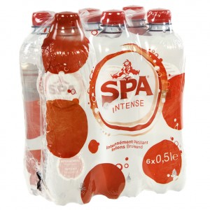 Spa PET  Bruis  50 cl  Pak  6 st