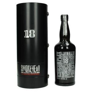 Smokehead extra Black 18Y 46%  70 cl   Fles