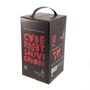 Cabernet Sauvignon Fairtrade  Rood  3 liter  Vat