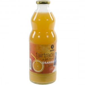 Fruitsap oxfam  Sinaas  1 liter   Fles
