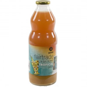 Fruitsap oxfam  Tropical  1 liter   Fles