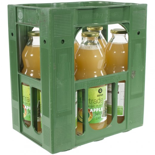 Fruitsap oxfam  Appel  1 liter  Bak  6 fl
