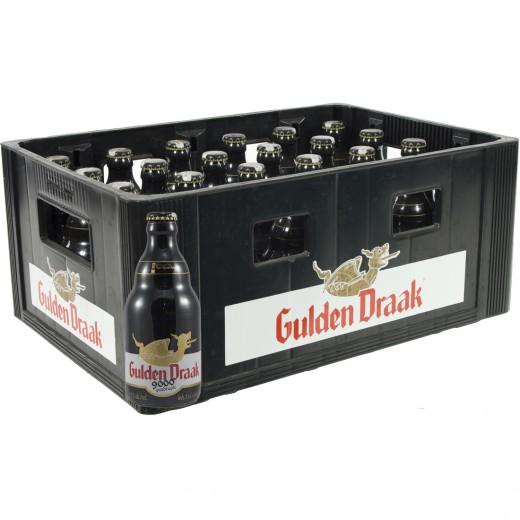 Gulden Draak  Amber  Quadruppel  33 cl