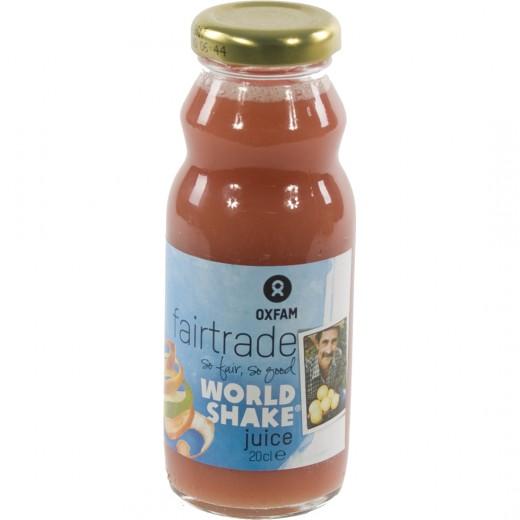 Fruitsap oxfam  Worldshakesap  20 cl   Fles