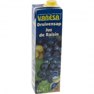 Fruitsap Brik Varesa  Druif rood  1 liter   Stuk