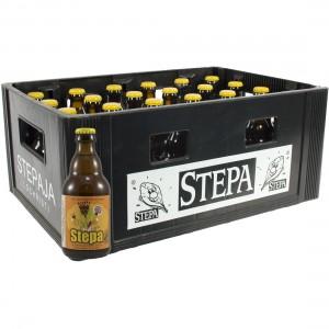 Stepa bier  Blond  33 cl  Bak 24 st